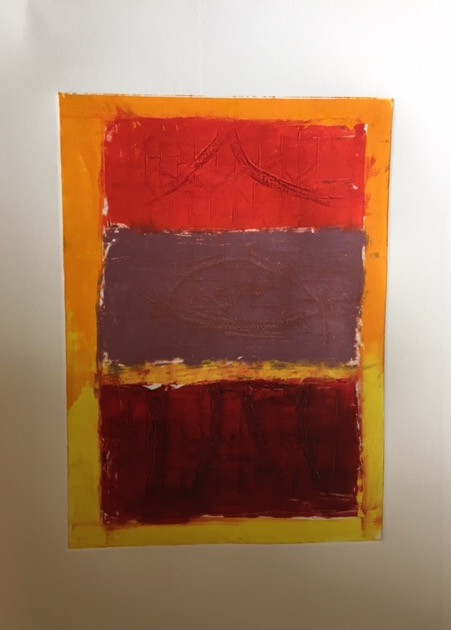 Red on yellow I 